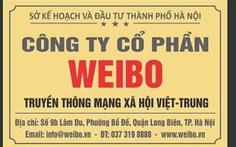 Có hay không mạng xã hội Việt - Trung Weibo ở Việt Nam?