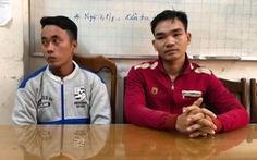 Hai người vụ tạt xăng pha mỡ vào đoàn cưỡng chế ra đầu thú