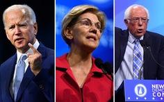 Vòng tranh luận lần 3 của Đảng Dân chủ: Cuộc đua tam mã dần lộ diện