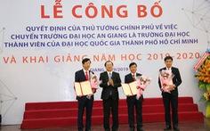 Công bố quyết định ĐH An Giang là thành viên ĐH Quốc gia TP.HCM