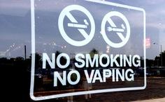 Mỹ sẽ sớm cấm thuốc lá điện tử