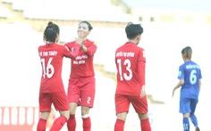 Mưa bàn thắng ở lượt về Giải bóng đá nữ VĐQG 2019