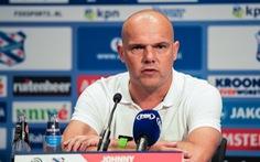 HLV Johnny Jansen 'tiếc nuối' vì Văn Hậu chưa thể ra sân cho Heerenveen