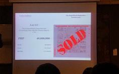 Trong 4 phút, bản đồ chủ quyền Philippines được bán đứt