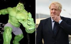 Thủ tướng Anh tóc vàng so sánh mình với Hulk xanh