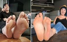 Hai phụ nữ chân to chân nhỏ đối xứng hoàn hảo nhận nhau làm chị em