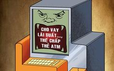 Công nhân thế chấp thẻ ATM bị chủ nợ vào luôn công ty quậy