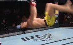 Video võ sĩ MMA liên tiếp 'nhào lộn' và cái kết thất bại cay đắng