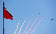 Trung Quốc đảm bảo vùng trời 'sạch' cho diễn tập diễu binh kỷ niệm Quốc khánh