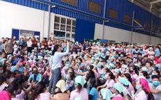 Suất ăn không đảm bảo vệ sinh, hàng nghìn công nhân ngừng việc phản đối