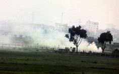 Khói đốt rơm rạ mù mịt, sân bay Nội Bài 'kêu cứu'
