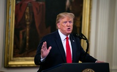 Ông Trump bóng gió về chuyện tới Bình Nhưỡng gặp ông Kim