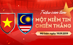 Mỗi người chỉ được mua 4 vé trận Việt Nam - Malaysia ở vòng loại World Cup