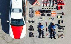 'Sống ảo' quy mô chưa từng có: Cảnh sát, cứu hộ thi nhau 'đọ' đồ nghề trên mạng