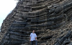 Phát hiện vỉa đá dài 1km cấu tạo độc đáo giống gành Đá Đĩa