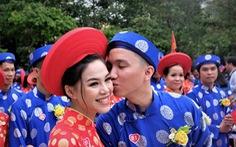 Lễ cưới tập thể của 100 cặp đôi công nhân đúng ngày Quốc khánh