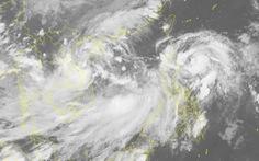 Hai áp thấp nhiệt đới và bão cùng xuất hiện là hiếm gặp