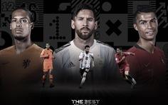 Messi, Ronaldo và Van Dijk lọt top 3 đề cử FIFA The Best