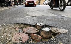 'Con đường đau khổ' ở Hà Nội vì đào lên lấp xuống