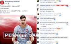Văn Lâm cản phá phạt đền thành công, CĐV Thái Lan gọi anh là 'thủ môn xuất sắc nhất'