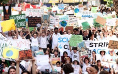 Học sinh khắp thế giới bãi khóa vì 'nhà chúng ta đang cháy'