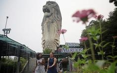 Tượng sư tử biển ở Singapore sẽ bị dỡ bỏ