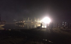 Nổ tàu cá ở Thanh Hóa, 3 người mất tích, 5 người bị thương nặng