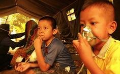 Cháy rừng ở Indonesia đe dọa sức khỏe 10 triệu trẻ em Đông Nam Á