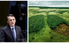 Tổng thống Brazil: Rừng Amazon chỉ là lá phổi của Brazil