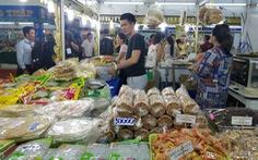 Hàng ngàn sản vật của 45 tỉnh thành ê hề trước mắt người Sài Gòn