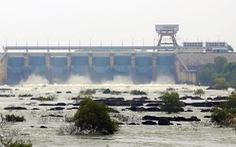 Triều cường tăng cao, Thuỷ điện Trị An giảm lượng nước xả tràn