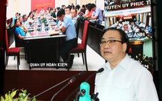 Bí thư Hà Nội Hoàng Trung Hải: 'Còn 660 chung cư, cơ sở vi phạm phòng cháy'