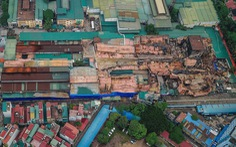 Hoàn thành tẩy độc khu vực ô nhiễm nhất ở nhà máy Rạng Đông