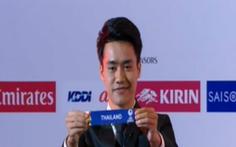 Đội trưởng U23 Thái được khen đẹp trai vì... bốc thăm 'dễ thở' cho Việt Nam