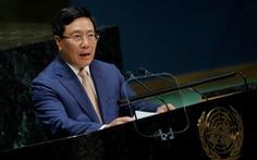 Phó thủ tướng Phạm Bình Minh đưa vấn đề Biển Đông ra Liên Hiệp Quốc