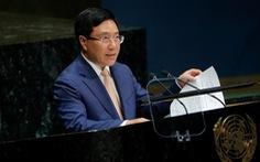Phó thủ tướng Phạm Bình Minh nói về 'chủ nghĩa đa phương' trong 15 phút tại LHQ