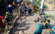 Triều cường uy hiếp huyện Cù Lao Dung