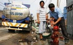 TP.HCM đề xuất tăng giá nước sinh hoạt
