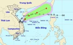 Áp thấp nhiệt đới đang ra xa bờ biển miền Trung, Tây Nguyên mưa to