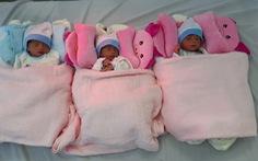 Một sản phụ Việt Nam sinh 3 bé trai tỉ lệ hiếm gặp 1/8.000