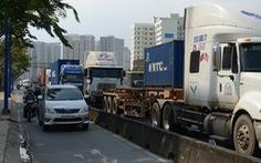 TP.HCM xem xét mở rộng đường để giảm ùn tắc cảng Cát Lái