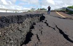 Vụ đường nứt như động đất ở Gia Lai: Công an vào cuộc