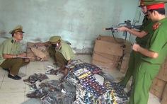Thu giữ hàng ngàn khẩu súng bạo lực xuất xứ Trung Quốc