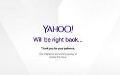 Yahoo Mail bất ngờ sự cố, người dùng lao đao