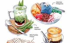 'Chết thèm' với thế giới món ăn trên tranh của chàng trai Việt
