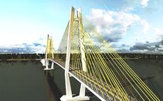 Xin bố trí 22 tỉ đồng để chuẩn bị dự án cầu Rạch Miễu 2
