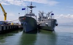 Tàu huấn luyện Hải quân Hàn Quốc cập cảng Tiên Sa
