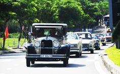 140 'siêu xe cổ' cả nước lăn bánh lộng lẫy trên phố Hội An