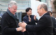 Ông Park đối đầu HLV Hiddink: Cột mốc và đời người