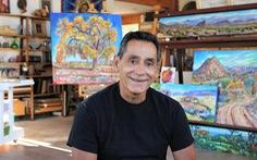 Họa sĩ nhiễm HIV dùng nghệ thuật giúp trẻ em lánh xa ma túy
